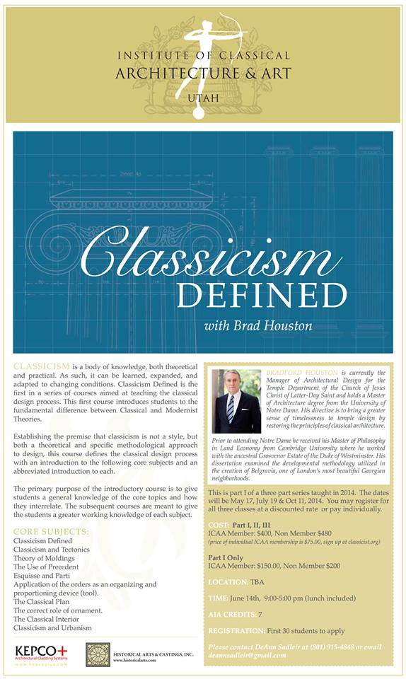 Classicism Defined-B.Houston