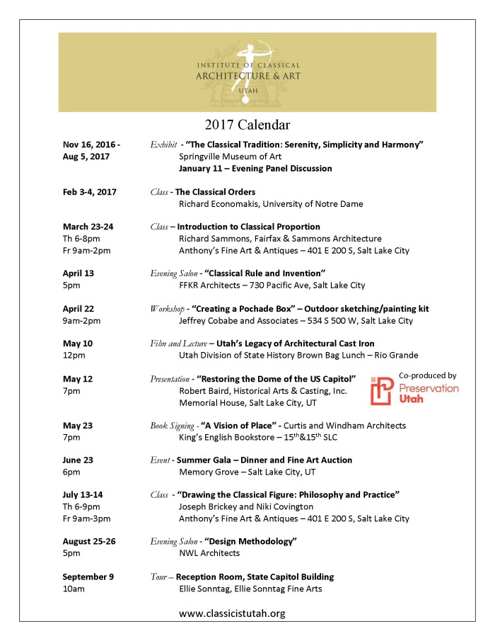 2017 Calendar - ICAA Utah Chapter - update 4-5-17