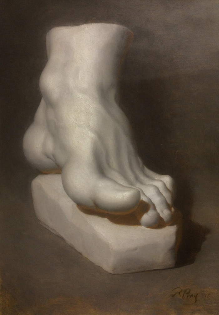 Peay - Cast Painting_Foot of Hercules