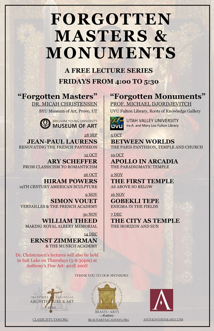 Forgotten Masters and Monuments 2018 - update