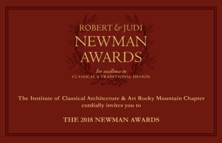 Newman Award Invitation