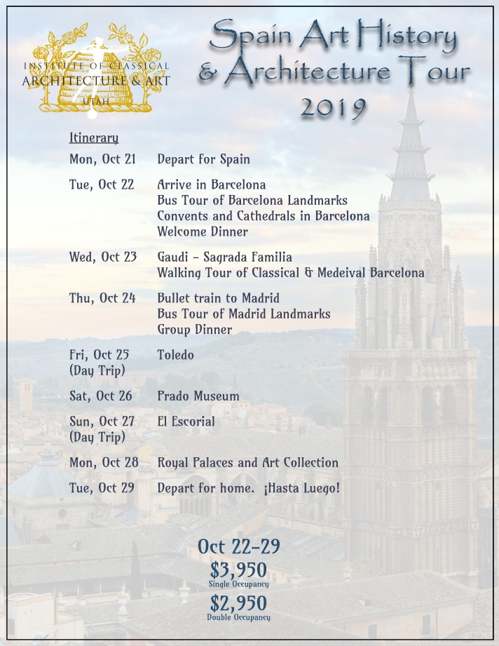 2019 Spain Itinerary