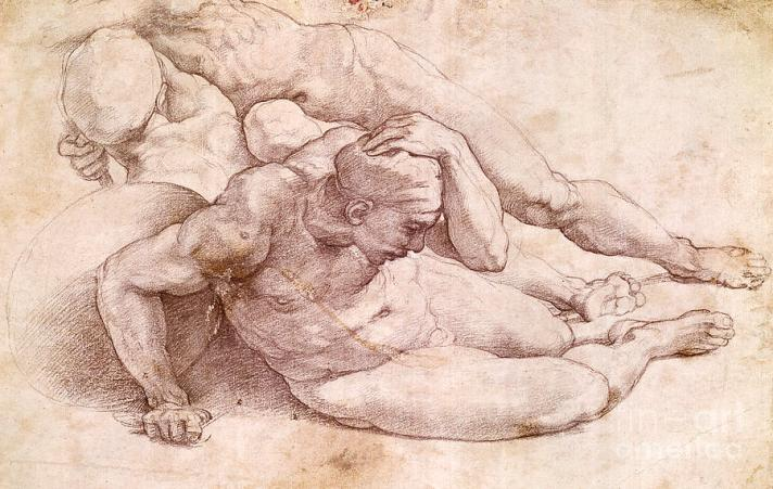 1-study-of-three-male-figures-michelangelo